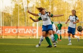 Pärnu naiskond tuli kaotusseisust välja ning teenis Balti liigas esimese punkti