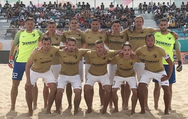 Augur alustas hooaega tiitlikaitsjale kohaselt. Foto: Spordiklubi Augur / Facebook