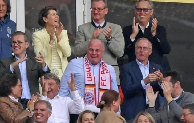 Uli Hoeness. Suur mees ja pisarad. Foto: n-tv.de