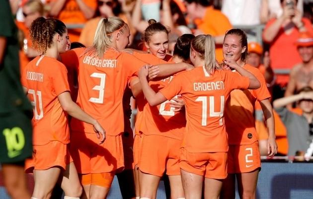 Hollandi naiskond sõidab MM-ile valitseva Euroopa meistrina. Foto: Hollandi jalgpalliliit
