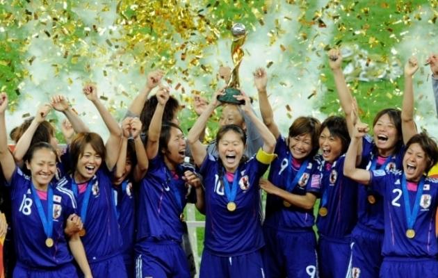 Senise seitsme naiste MM-i suurim üllatus on ilmselt Jaapani võit 2011. aastal. Foto: FIFA Twitter