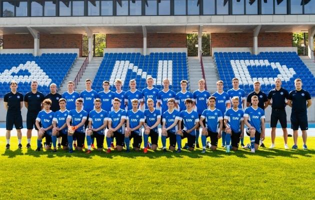 Eesti U19 koondis. Foto: Christer Palu / Jalgpall.ee