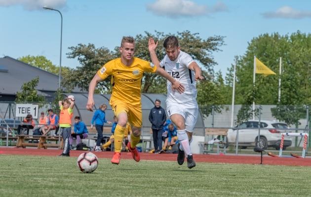 Premium liigas mängis Alari Saar (vasakul) viimati 2019. aastal. Foto: Allan Mehik