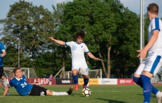Video: Eesti U19 alustas Balti turniiri kaotusega