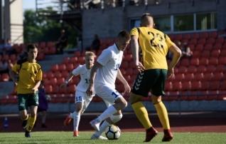 VAATA JÄRELE: U19 koondis ei suutnud kümnemehelist Leedut murda  (galerii!)