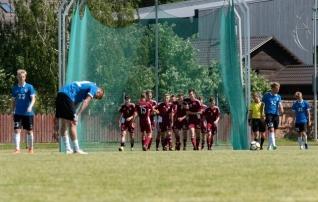 VAATA JÄRELE: U19 koondisel jäid Balti turniiril väravad löömata, turniiri võitjatele lätlastele kaotati kindlalt  (galerii!)