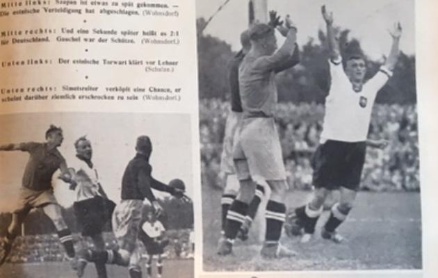 Kickeri lugu oli ohtrate illustratsioonidega. Foto: Kicker, 1937