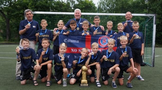 2014. aastal võitis Mihhail Artjuhhovi juhendatud TJK Legioni 2003. aastal sündinute võistkond ära oma vanuseklassi Gothia Cupi turniiri Rootsis. Foto: TJK Legion