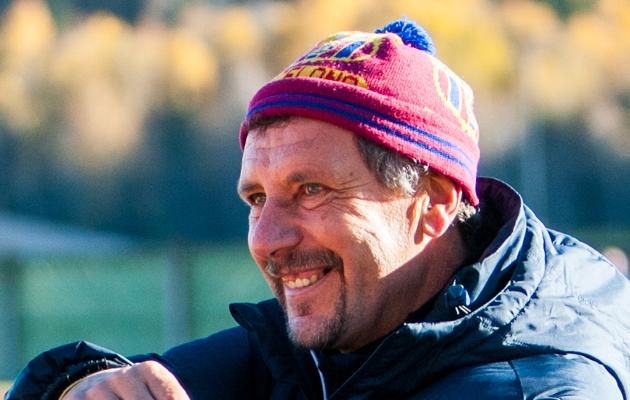Jalgpallitreener Viktor Mets. Foto: Gertrud Alatare