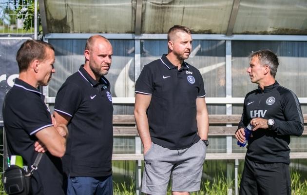 Eelmisel nädalal said Martin Reimi juhendatava koondise tegemisi stažeerida Andrei Borissov, Joel Lindpere ja Vjatšeslav Zahovaiko. Foto: Brit Maria Tael
