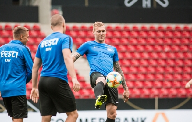 Joonas Tamm. Foto: Jana Pipar / jalgpall.ee