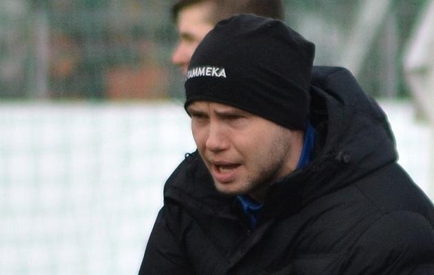 Tammeka U21 peatreener Marti Pähn. Foto: Edgar Kriisk