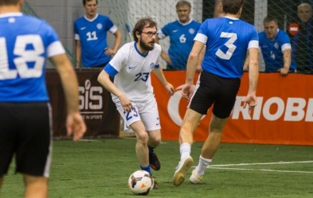 Joosep Susi jalgpalliväljakul. Foto: Brit Maria Tael