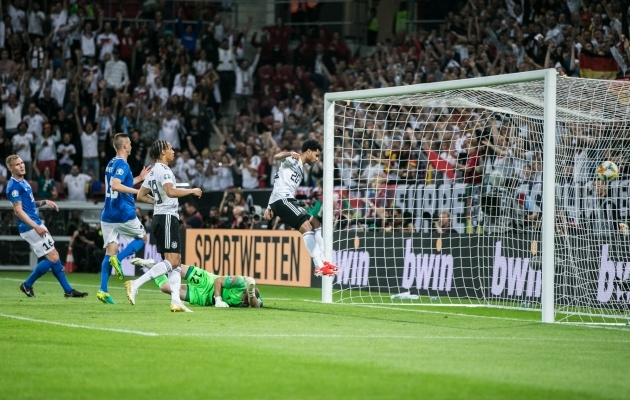 Eesti koondise eelmine MM-valikmäng lõppes 0:8 kaotusega Saksamaale. Foto: Brit Maria Tael