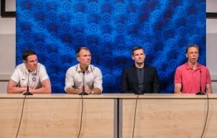 LOE JÄRELE: Martin Reim ja tema abitreenerid andsid viimase pressikonverentsi  (galerii!)