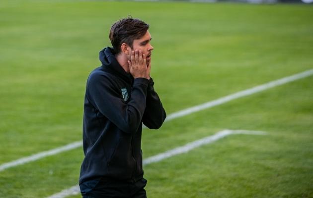 FC Flora peatreener Jürgen Henn. Foto: Gertrud Alatare