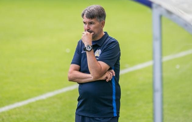FC Kuressaare peatreener Jan Važinski. Foto: Brit Maria Tael
