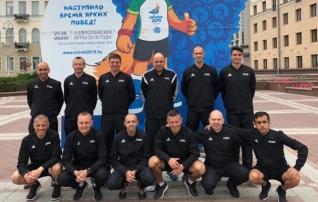 Eesti rannajalgpallikohtunik on ametis Euroopa mängudel