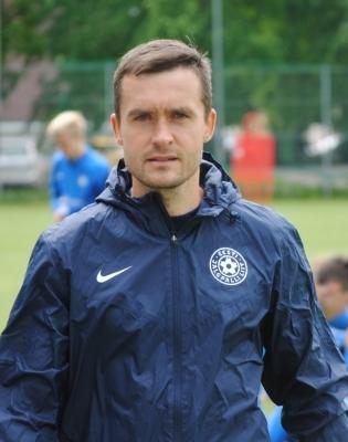 Eesti U17 koondise peatreener Norbert Hurt. Foto: EJL