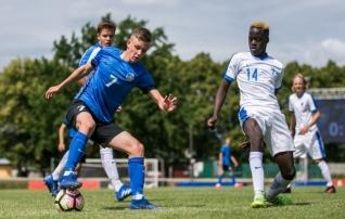 VAATA JÄRELE: Eesti U17 pidi Balti turniiri avamängus iluväravaga hiilanud Soomele alla vanduma