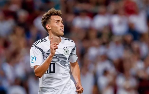 Luca Waldschmidt oli seitsme väravaga U21 EM-finaalturniiri parim väravakütt. Foto: bundesliga.com