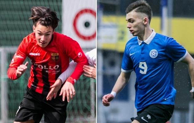 09247ae3cc3 Samal ajal kui Aleksandr Šapovalov (paremal) esindab U17 koondist, on  Oliver Jürgens (