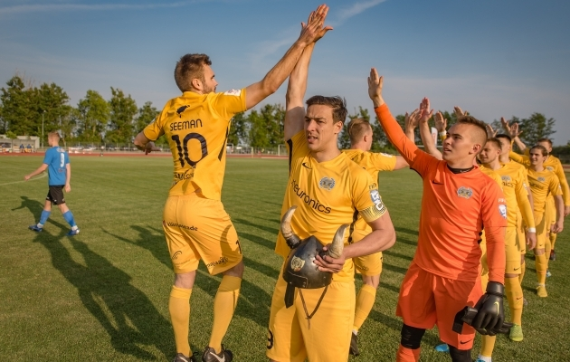 Meeskonnavaim peab olema Kuressaare trump. Foto: Allan Mehik