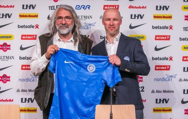 921f22f38fc AMETLIK: Karel Voolaiust sai uus Eesti koondise peatreener (galerii ...