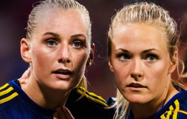Rootsi naiskond ei suutnud lisaajal pärast kaotusseisu jäämist väga head väravavõimalust tekitada. Foto: FIFA Twitter