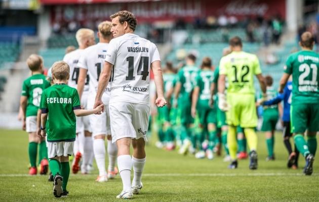 Kolmest senisest selle hooaja Tallinna derbist on FC Flora võitnud kaks ja FCI Levadia ühe. Foto: Brit Maria Tael