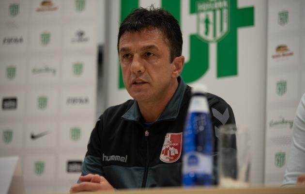 Niši Radnicki peatreener Simo Krunic. Foto: Liisi Troska