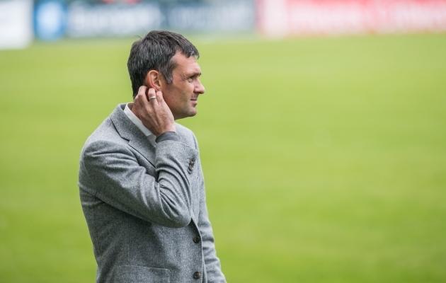 FCI Levadia peatreener Aleksandar Rogic. Foto: Brit Maria Tael