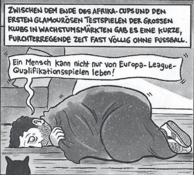Hädalise karikatuur täies pikkuses. Foto: Andres Must (11 Freunde)
