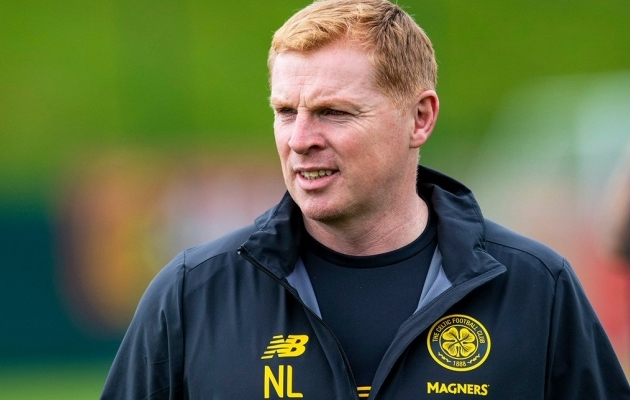 Glasgow Celticu peatreener Neil Lennon. Foto: Celtic FC / Twitter