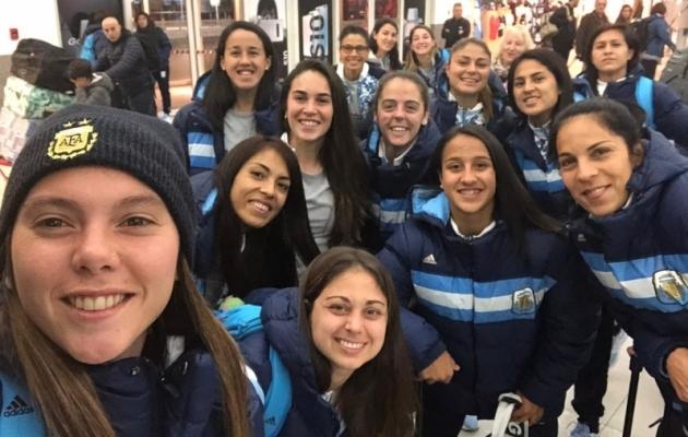 Argentina koondis Pan-Ameerika mängude eel. Foto: Argentina jalgpalliliidu Twitter