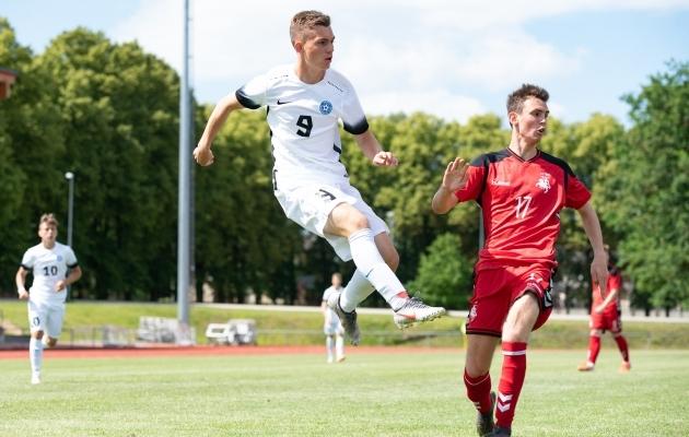 U17 koondises on Šapovalovil kirjas 12 mängu ja 7 väravat. Foto: Liisi Troska