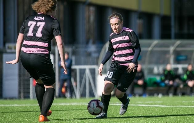676863dc8b5 Naiste meistriliigas peetakse kahe vooru mänge - Soccernet.ee ...