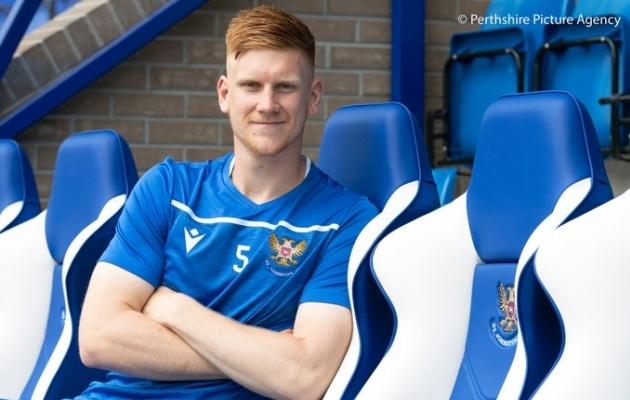 Vihmann uues kodus. Foto: St Johnstone FC / Perthshire Picture Agency