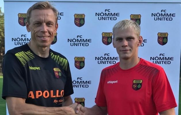 Mart Poom ja Teet Kallaste. Foto: Nõmme Unitedi Facebook