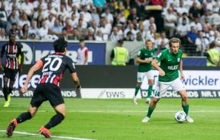 Vassiljev Eintrachti fännide ovatsioonidest: isegi meie värav ei olnud mingi juhus. Siin nad oskavad seda hinnata!