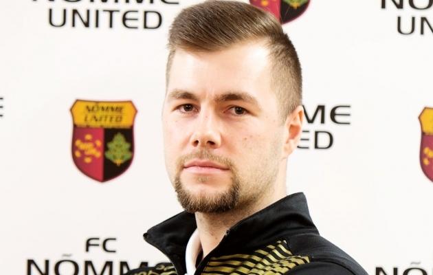 Nõmme Unitedi peatreener Martin Klasen. Foto: fcnommu.ee / Nõmme United