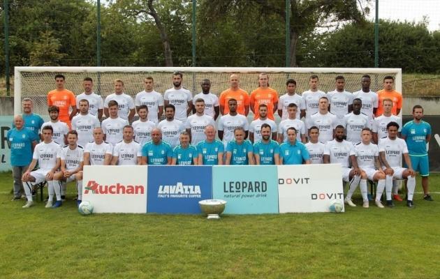 Dudelange'i meeskonnafoto enne hooaja 2019-20 algust. Foto: Dudelange'i kodulehekülg