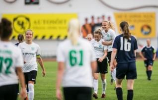 VAATA JÄRELE: Flora naised lõpetasid eurodebüüdi võidukalt  (galerii!)