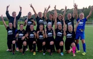 Vapruse naiskond edenes suure võiduga veerandfinaali