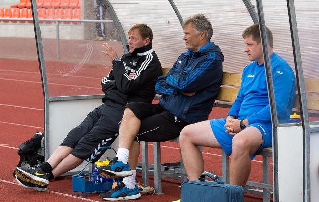 Aivar Lillevere, Tarmo Rüütli ja Rain Tölpus. Foto: Rein Murakas