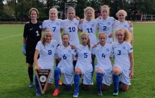 U15 neiud alustasid Balti turniiri võimsa võiduga