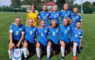 Neidude U15 koondis jätkas Balti turniiri võidukalt
