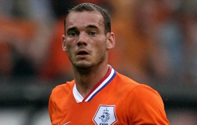 Vahi jämedat! Sneijder on KAHE NÄDALAGA kehakaalu kahekordistanud