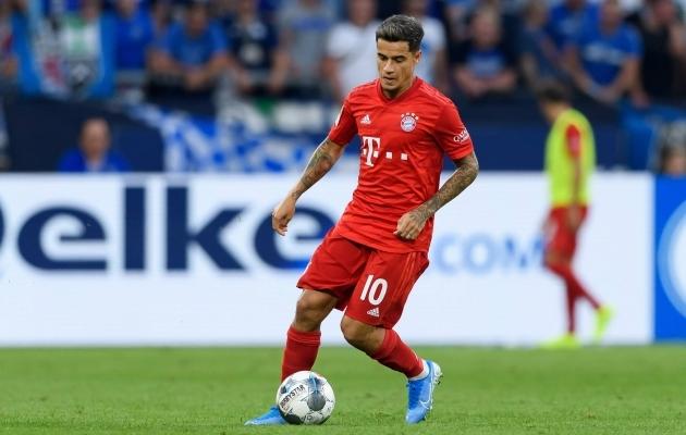 Vähemalt algaval hooajal kannab Coutinho Bayerni särki. Neil on ostuvõimalus, aga mitte -kohustus. Foto: Bayerni Twitter