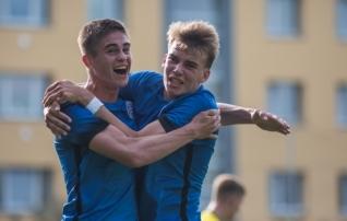 VAATA JÄRELE: finaalturniiriks valmistuv U17 sai ilusa mänguga ka Rootsi skalbi  (galerii!)